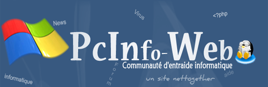 Welcome to PCInfo-Web ! - Computer assistance & community